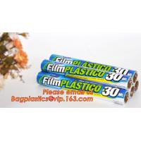 China Stretch And Fresh Re-usable Food Wraps Silicone Plastic Stretch Cling Film, Food grade LDPE cling film,LDPE stretch film for sale