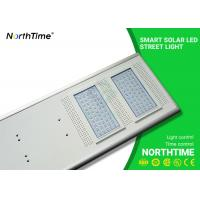 Buy cheap LiFePO4 Battery Smart Solar Powered LED Street Lights Outdoor Energy Efficiency from wholesalers