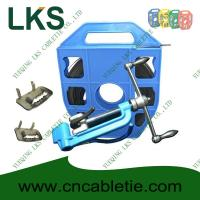 Wholesale LKS-B1 Series Stainless Strapping Band with Ear-Lokt Buckle and LKA Style Banding tool from china suppliers