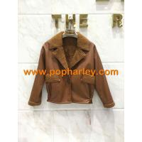 China Factory Supplier!!! wholesale woman short leather jackets for sale