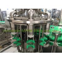 Quality Glass Bottle 3-In-1 Liquid Juice Hot Filling Machine With Stainless Steel 304 5.88kw for sale