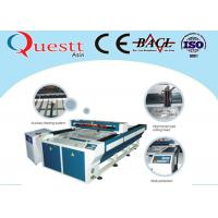 Wholesale Plastic Laser Engraving Machine For Textile Cloth , 200W Laser Engraving Machinery from china suppliers