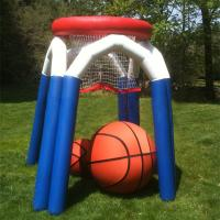 Wholesale Fun Basketball Shooting Hoop Inflatable Interactive Games Waterproof PVC from china suppliers