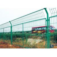 Quality Pvc Coated Steel Wire Mesh Security Fencing Grid Structure Concise Stadium for sale