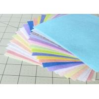Wholesale 1mm 3mm 5mm Colored Polyester Felt OEM Acceptable 350 GSM Well Touch from china suppliers