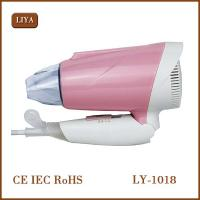 China Electric Handle 800-1000W Hair Dryer Styling Tools Low Noise Mini Foldable Hair Dryer with green and pink on sale