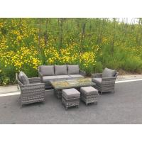 Wholesale Sofa Dining sets outdoor rattan dining set rattan dining set with ice pot from china suppliers