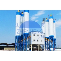 Wholesale Conveying Belt Twin Shaft Mixer HZS120 Concrete Batching Plant High Speed Stable Performance from china suppliers