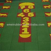 Wholesale exceptionally outdoor play sports rubber floor tiles paver for sale from china suppliers