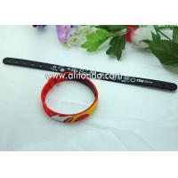 Promotional gifts custom soft silicone wristband for children sports meeting events club for sale