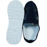 Wholesale Four Hole Blue Canvas ESD Safety Shoes Comfortable / Convenient For Clean Room from china suppliers