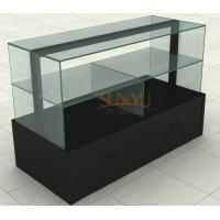 Wholesale MDF Display Stands Acrylic Window Displays For Retail Stores Black from china suppliers