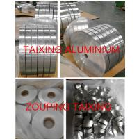 China AA8011 aluminium strip  both sides clear lacuqer  for flip off seal for sale