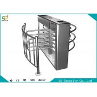 Wholesale Waist Height Gate Turnstile Entry Systems / Office Half Height Turnstiles from china suppliers