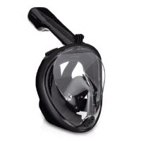Buy cheap 180° Full Face Snorkel Mask Panoramic View Anti-Fog with Adjustable Head Straps from wholesalers