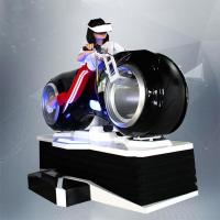 Buy cheap 1 Person Online Race 9D Vr Driving Motorcycle Racing Car Simulator Game Machine from wholesalers