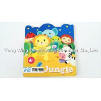 Quality OEM Funny Baby Sound Books with 6 PET Button Small Sound Module for sale