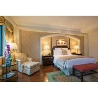 COC Luxury Hotel Bedroom Furniture With Dining Table Environmental Friendly for sale