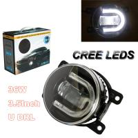 China TOP selling 2 In 1 Automobiles LED Fog Light + LED Daytime Running Light With Car Led Fog Light Universal on sale