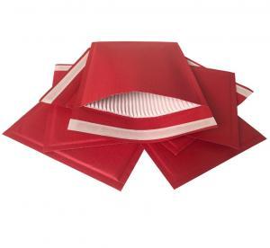 China UV Coating Kraft Mailer Envelopes Hot Melt Glue Closure 10mm Diameter on sale