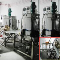 Wholesale Cuatom 2000L Shampoo Mixer Machine With Group Stainlesss Steel Blending Tanks from china suppliers