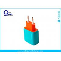 China International Travel Usb Power Charger Adapter OEM Logo Color European USA Plug on sale