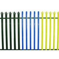 Wholesale Colorful Triple Pointed Palisade Steel Security Fencing Anti Theft With Low Carbon Steel from china suppliers