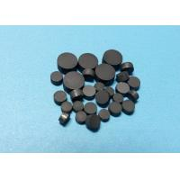 Metal PCD Wire Drawing Die Blanks Self Supported Round Diamond Custom Size