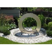 Wholesale Garden Design Ring Shape Stainless Steel Water Feature Fountain Corrosion Stability from china suppliers