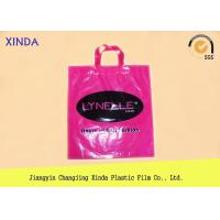 Boutique shop die cut patch handle carrier bags with customized size