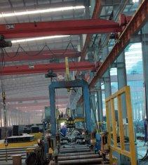 Quality Electric Single Girder Overhead Bridge Cranes Traveling Type LDX3t-18m for sale