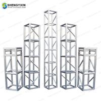 Wholesale Concerts aluminum stage /mobile guangzhou supporting truss structure from china suppliers