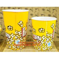 Wholesale Good Quality New Design Cheap 16Oz Popcorn, 8oz/12oz/16oz/20oz disposable hot drink coffee paper cup with lid and sleeve from china suppliers