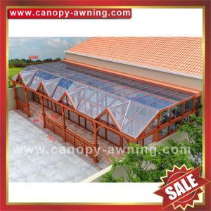 Buy cheap Prefab Sun room,sun house,garden house,glass house,excellent aluminium framework from wholesalers