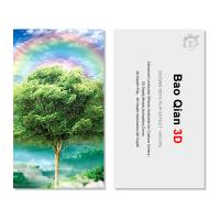 Wholesale Customized Logo 3D Lenticular Card / Shaped Stand Holographic Business Cards from china suppliers