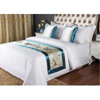 Wholesale 5 Star Quality Embroidery Hotel Bed Runners For Decorated Peacock Pattern from china suppliers