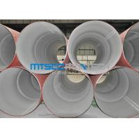 Wholesale 304 / 316 Annealed Pickled Welded Stainless Steel Pipes , Industrial Pipe from china suppliers