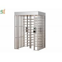 Wholesale Durable Full Height Turnstiles Rfid Smart Card Reader Security Turnstile Gates from china suppliers