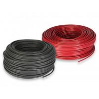Buy cheap Halogen Free Solar Cable Wire , Hydrolysis Resistant Photovoltaic Cable 2*6mm2 from wholesalers