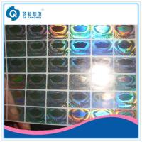 Personalized Hologram Security Stickers , Medicine Anti Tamper Label Sheets