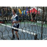 China Paddle Tennis Hexagonal Wire Netting for tennis court , and electric grid bumper cars on sale