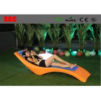 Wholesale Waterproof Plastic Garden Furniture Color Changing Coffee Chair from china suppliers