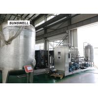 Wholesale Electricity Saving Carbonated Filling Machine  With YHZ Type Mixer Used In Chiller And Warmer from china suppliers