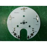 Wholesale Rigid Single Side / Double Side Round LED PCB Circuit Board 4x4 mm - 1500x600 mm from china suppliers