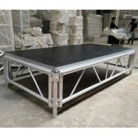 Wholesale 4*8 Feet Assembly Outdoor Used Portable Anti slip Aluminum and Wooden Wedding Stage Platform from china suppliers