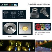 Buy cheap CE&ROHS 316 Stainless Steel Small RGB Round or Square LED Underground Lights from Wholesalers