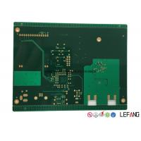 Quality 10 Layers Industrial PCB Printed Circuit Board with Immersion Gold Surface for sale