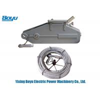 Wholesale Longlife Tirfor Cable Puller / Wire Rope Pulling Hoist With ISO Passed from china suppliers