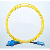 Wholesale OEM SC/APC-SC/APC Singlemode Fiber Optic Patch Cord in communication equipment from china suppliers