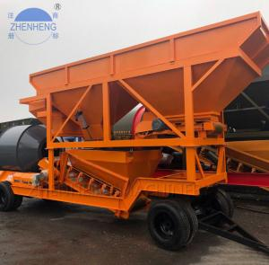 Wholesale 35CBM/Hour YHZM35 Mobile Concrete Batching Plant Easily Move from china suppliers